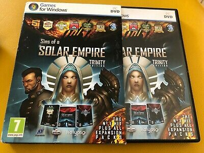 Sins Of A Solar Empire Trinity Edition (With all expansions) PC Game