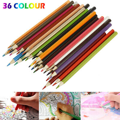 36 Professional Premium High Quality Pencils Water Colour Artist Drawing set