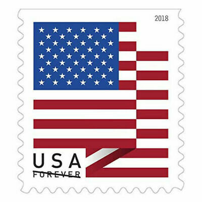 20 USPS Forever Stamps, 2018 U.S. Flag Design, Cheap Postage, NEW