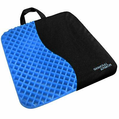 Gel Chair Seat Cushion for Lower Back Pain Pressure Relief Wheelchair Car Office