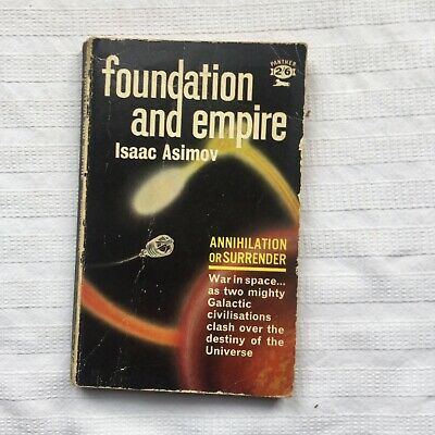 Isaac Asimov Foundation & Empire Panther Books 1st Thus Paperback Edition