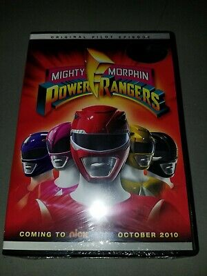 New! MIGHTY MORPHIN POWER RANGERS - Pilot Episode DVD Limited Morphicon RARE!!!