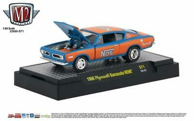 M2 Machines O'Reilly's Exclusive '68 Plymouth Barracuda HEMI