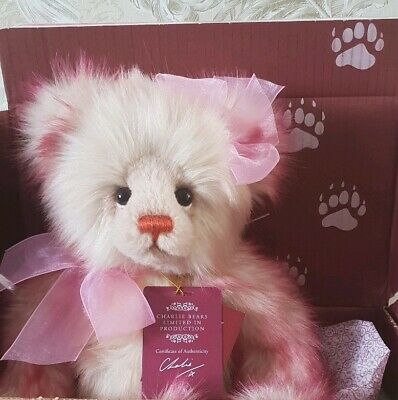 Charlie Bears 2018 Plumo Limited Edition Birthday Bear Rare New in Box