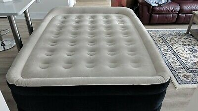 buy online 2dfd5 097fb KING KOIL QUEEN SIZE Luxury Raised Air Mattress Inflatable Airbed