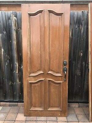 Solid Timber Doors. 2040 X820