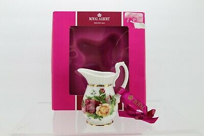 Royal Albert Old Country Roses Pitcher Christmas Ornament