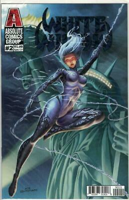 White Widow #2 Retail Edition Liberty Cover 24 Page Comic by Ace Continuado