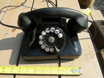 Vintage / Antique North Electric Mfg. Co. Rotary Dial Desk Top Telephone ?