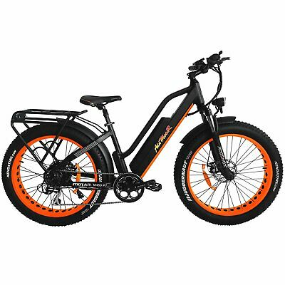 Addmotor MOTAN M-450 P7 Electric Bike 750W Full Suspension Fat E-Bike for Adult