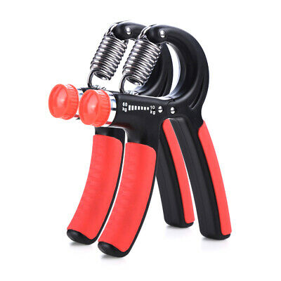 10-60KG Adjustable Hand Grip Strengthener Strength Trainer Exerciser Resistance