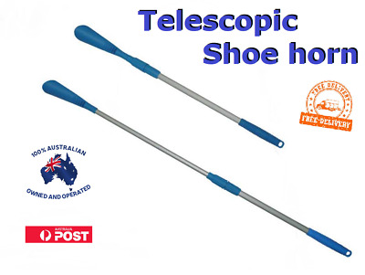 Telescopic Extendable Shoe Horn shoehorn with Aluminium Pole New FREE Delivery