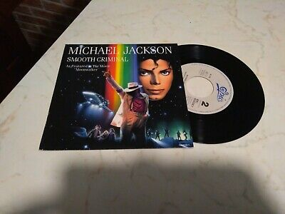 Michael Jackson - Smooth Criminal - Moonwalker 45 Epic Epc 653026 7 Ottimo