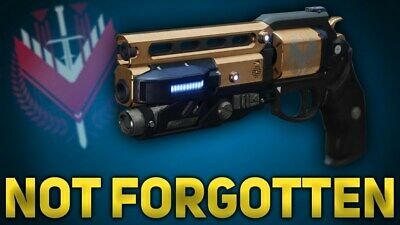 Destiny 2 Not Forgotten Boost (FABLED RANK 5500 ONLY) PC ONLY