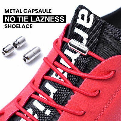 No Tie Shoelaces Elastic - Lazy Shoe Lace for Sneakers New Lock Laces Life Hack
