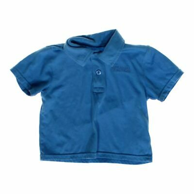 KENNETH COLE REACTION Boys Classic Polo Shirt, size 2/2T,  blue/navy