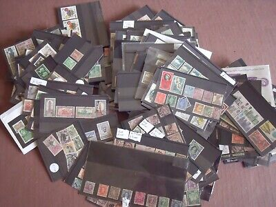 HUGE COLLECTION ON STOCK CARDS MANY 100s. MAINLY BRITISH, EMPIRE & COMMONWEALTH