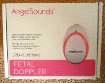 Angelsounds~FETAL DOPPLER~Maternity Baby~Record Heartbeat~Gel+Battery+~*NEW*!!