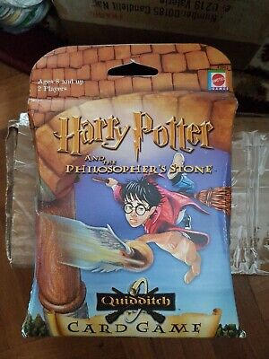 Harry Potter And The Philosophers Stone Quidditch Card Game