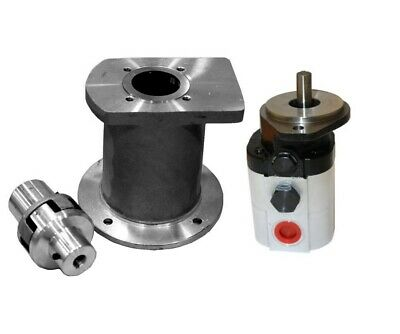 Hydraulic 22 GPM Two Stage Hi-Low Pump C/W Bell Housing Engine Kit
