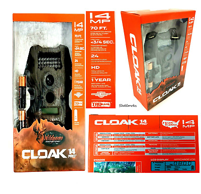 Wildgame Innovations Cloak 14 Pro 14MP Outdoor Trail Game Camera  NEW