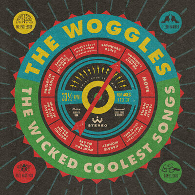 * The Woggles - The Wicked Coolest Songs // Vinyl LP limited edition