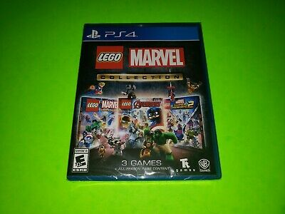 Lego Marvel Collection PLAYSTATION 4 PS4 Avengers Super Heroes 1 2 Neu Ovp