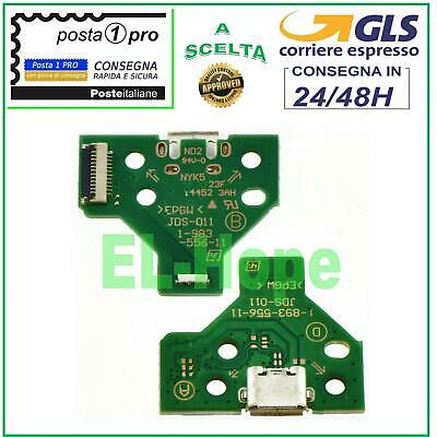 Connettore Ricarica Micro Usb Pcb 12 Pin Jds-011 Per Controller Joypad Sony Ps4