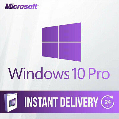Genuine Windows 10 Professional Win10 Pro clave 32/64BIT código de activación