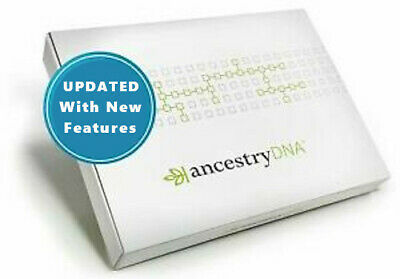 Ancestry DNA, Genetic Testing - DNA Test Kit, Original, New,Sealed