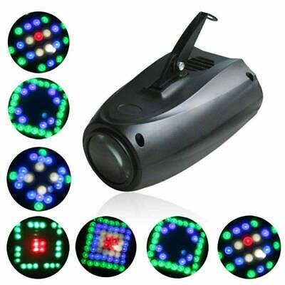 Music Active RGB LED Lights Laser Stage Effect Lighting Club Disco Party Bar A