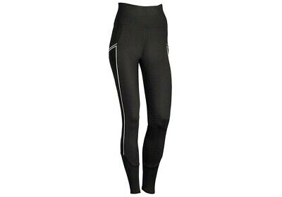 Harry's Horse EquiTights Riding Tights Leggings Summer Breeches Black