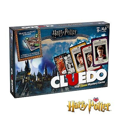 CLUEDO HARRY POTTER EDITION Board Game Hasbro The Classic Mystery Game