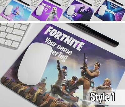 HD Fortnite Mouse Mat PERSONALISED add your Text, Name or GamerTag - gamer gift