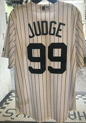 Aaron Judge #99 New York Yankees MLB Authentic Jersey Majestic Med M Cool Base M