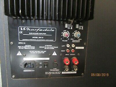 Wharfedale Active 15'' Sub Woofer Model SW-15