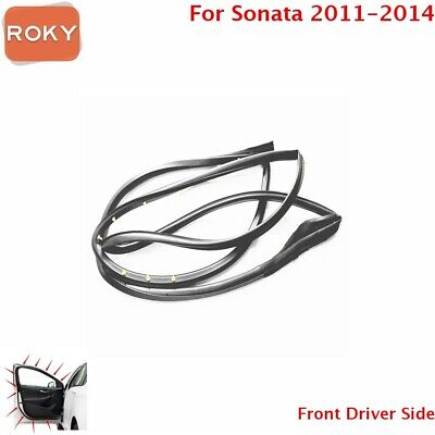 Door Opening Weatherstrip Seal Quality Front Left For Hyundai Sonata 2011-2014