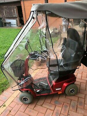 Celebrity X Mobility Scooter - Near New With Rain Cover