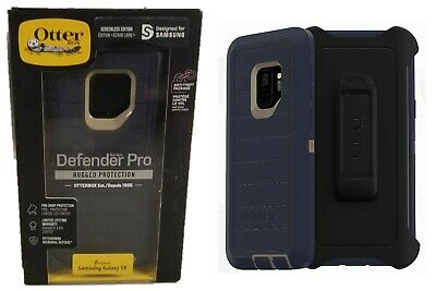 Otterbox Defender Pro Case Belt Clip Holster for Samsung Galaxy S9 Dark Lake OP