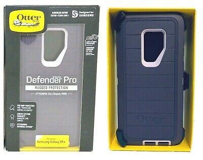Otterbox Defender Pro Case Belt Clip Holster for Samsung Galaxy S9 Plus Purple