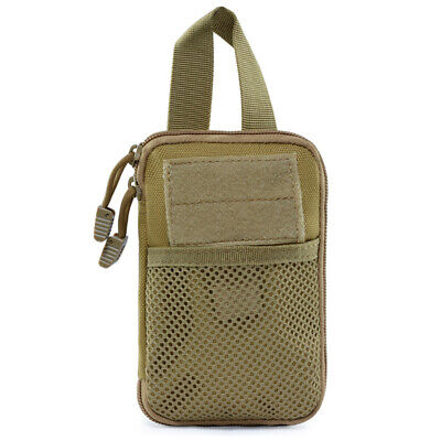 Molle First Aid Hunting Pouch Travel Pocket Organizer Edc Pouch Bag Cordura P4J7
