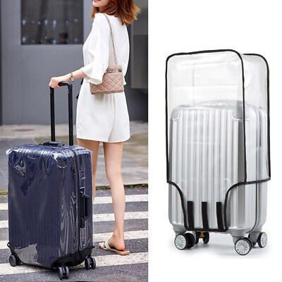 Waterproof Transparent Travel Protective Luggage Suitcase Cover Protector 20-28""