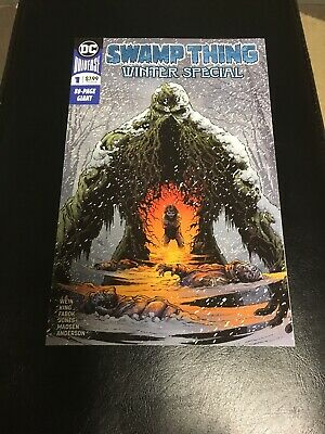 Swamp Thing Winter Special #1 Tom King Jason Fabok First Print DC Comic 2018 NM