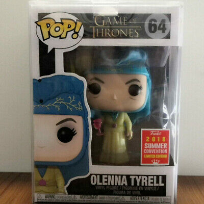 Funko Pop Game Of Thrones Olenna Tyrell #64 SDCC 2018 Summer Box Protector Case