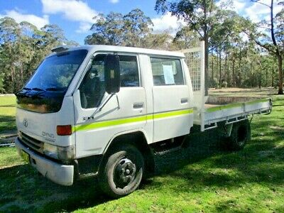 Toyota Dyna 300 dual cab 3 tonne carrying capacity 16 valve diesel