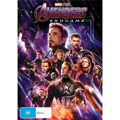 Avengers Endgame : NEW DVD : Australian Stock :* Wednesday SPECIAL* : 2019