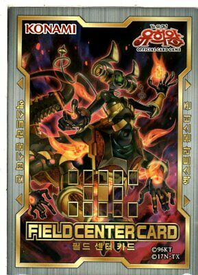 "Yu-Gi-Oh Field Center Card ""Altergeist Hexstia""  / Korean"