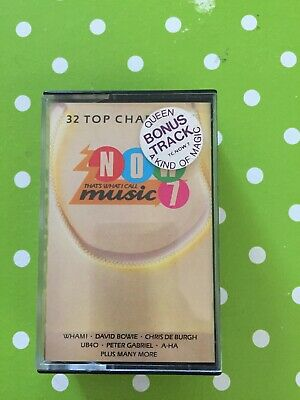 Various Artists: NOW THAT'S WHAT I CALL MUSIC 7 (Double Cassette)