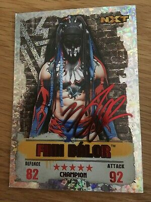 WWE Slam Attax Takeover 2016 No 23 Finn Balor Red Champion NXT