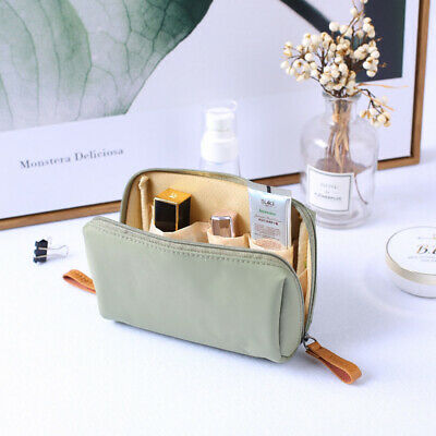 1 PC Beauty Solid Cosmetic Bag Korean Style Women Makeup Bag Pouch Toiletry Bag
